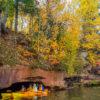 Apostle Islands Sea Caves Fall Colors
