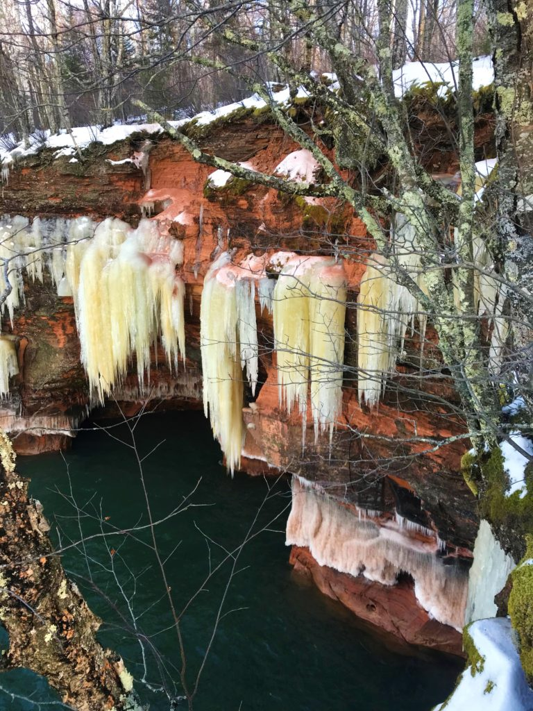 Apostle Islands Ice Caves Photos 1/14/19