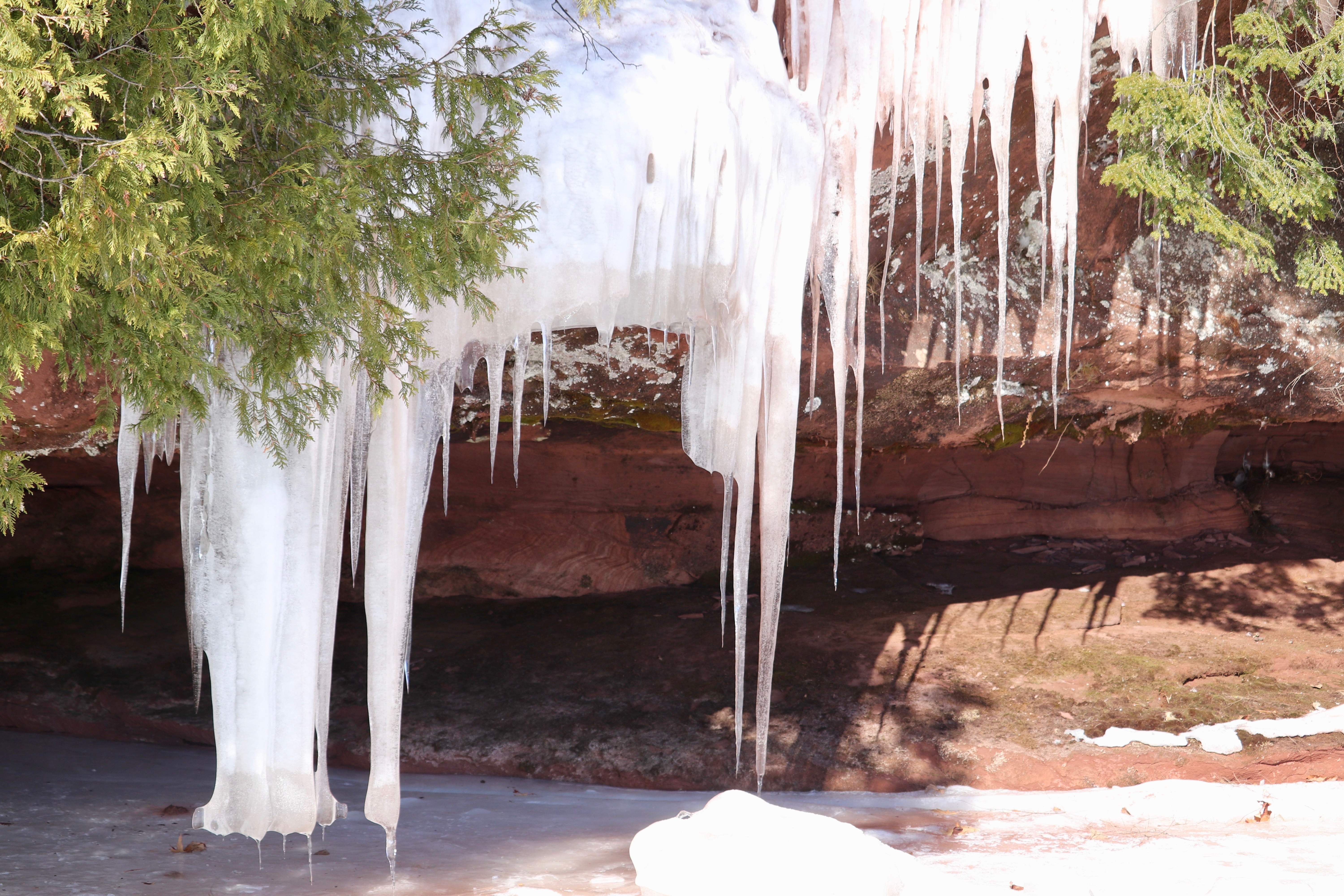 Apostle Islands Red Cliff Ice Caves