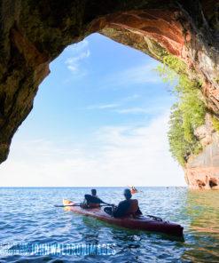 Sand Island Sea Caves Boat Tour (Kayaks Optional) – Apostle