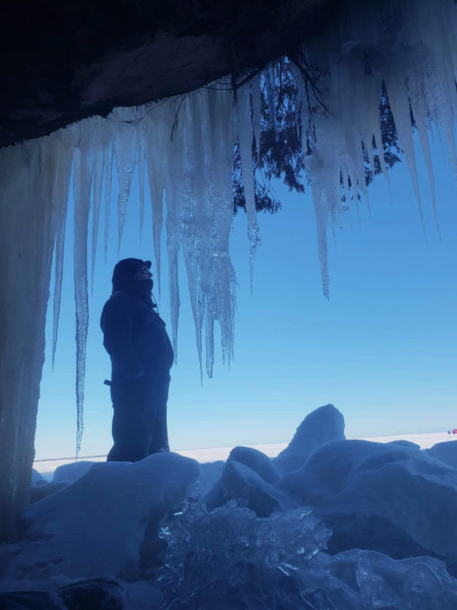 Apostle Islands Ice Caves Cpt. Chichi